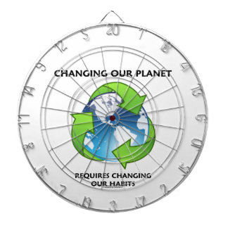 Changing Our Planet Requires Changing Our Habits Dart Boards