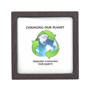 Changing Our Planet Requires Changing Our Habits Gift Box