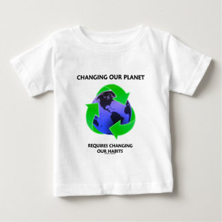 Changing Our Planet Requires Changing Our Habits Shirt