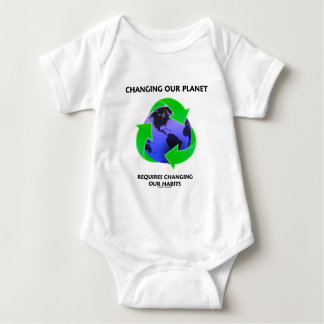 Changing Our Planet Requires Changing Our Habits T Shirt