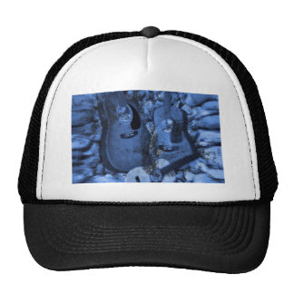 Changing Rock Guitars in the Blue Depths Trucker Hat