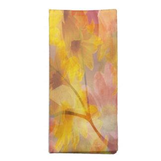 Changing Seasons Abstract Cloth Napkins