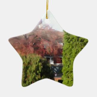 Changing Seasons Ceramic Ornament
