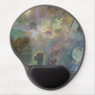 Changing Seasons - Spring Summer Winter Fall Gel Mouse Pad