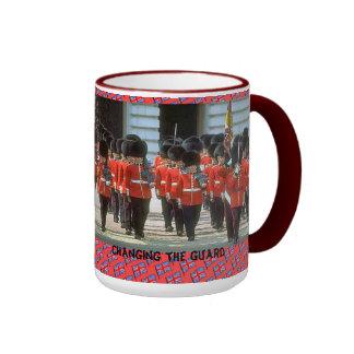 Changing the guard ringer mug