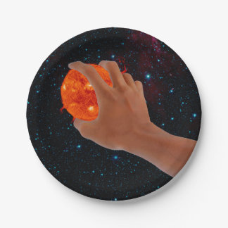 Outer space plates zazzle for Outer space paper