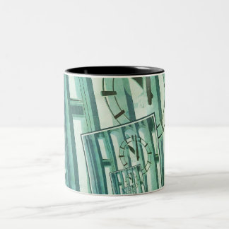 Changing Time Two-Tone Coffee Mug