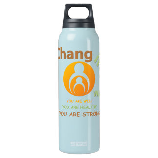 Changing Within Aluminum 24 oz Insulated Water Bottle