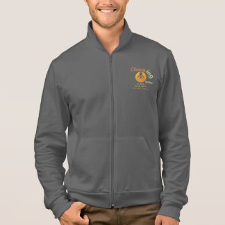 Changing Within Fleece Zip Jogger Printed Jacket