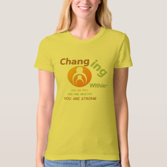 Changing Within Ladies Organic T-Shirt (Fitted)