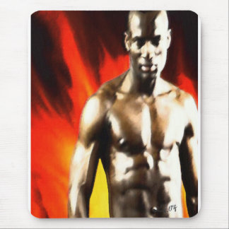 CHANGO KING OF FIRE BY LIZ LOZ MOUSE PAD
