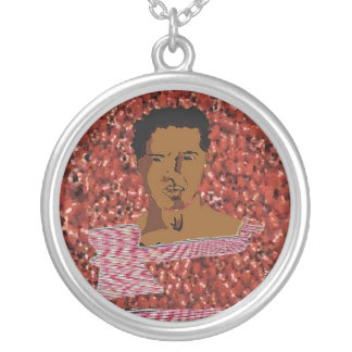 CHANGO SILVER PLATED NECKLACE