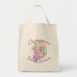 Changwon South Korea Tote Bag