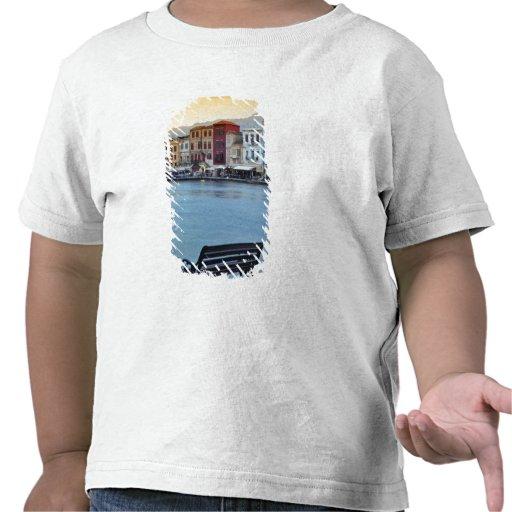 Chania at dusk, Chania, Crete, Greece T-shirts