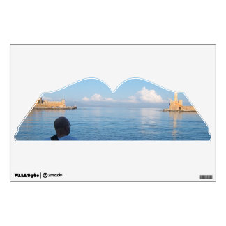 Chania, Crete Book Wall Decal
