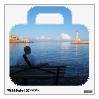 Chania, Crete Suitcase Travel Wall Decal