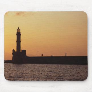 Chania Lighthouse Mousepad