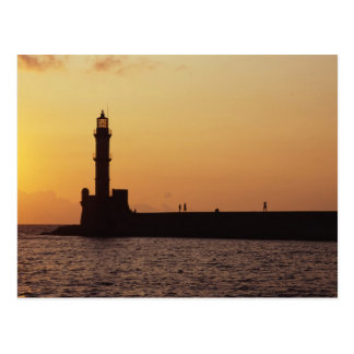 Chania Lighthouse Post Cards