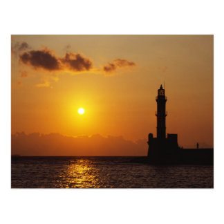 Chania Lighthouse Postcards