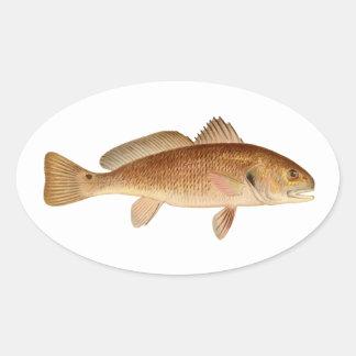 Channel Bass Logo Oval Sticker
