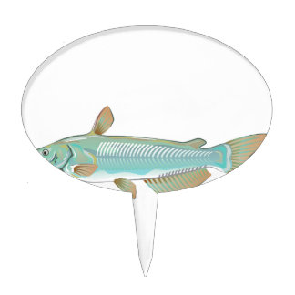 Channel catfish game fish farm fish seafood market cake topper