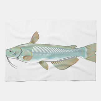 Channel catfish game fish farm fish seafood market towel