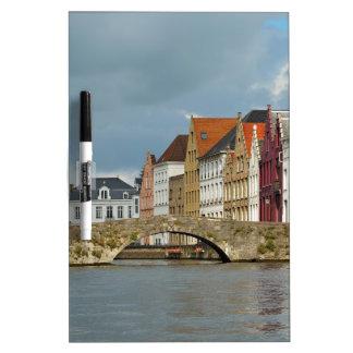 Channel in Brugge Belgium Dry-Erase Boards