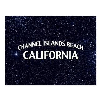 Channel Islands Beach California Postcard