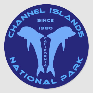 Channel Islands National Park Classic Round Sticker