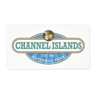 Channel Islands National Park Label