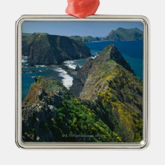 Channel Islands National Park, Southern Square Metal Christmas Ornament