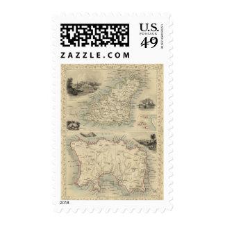 Channel Islands Postage Stamp