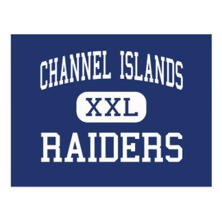 Channel Islands - Raiders - High - Oxnard Postcards