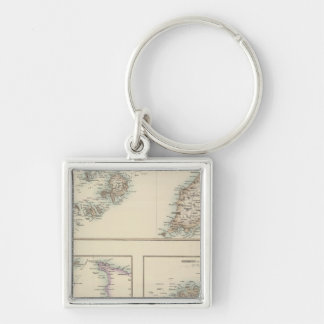 Channel Islands, Scilly Islands, and Isle of Man Keychain