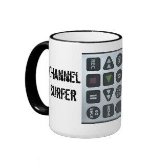 Channel Surfer Ringer Coffee Mug