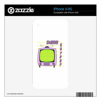 Channel Surfer Skins For The iPhone 4