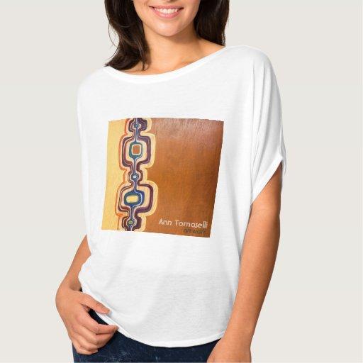 'Channel' tshirt - Ann Tomaselli -Original Artwork