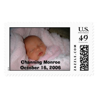 Channing, Channing MonroeOctober 16, 2006 Postage Stamp