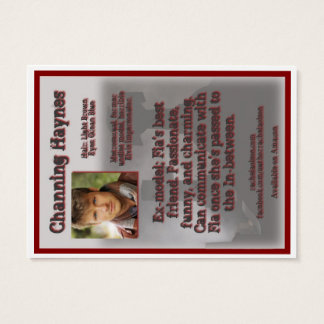 Channing Haynes Character Trading Card - LDD