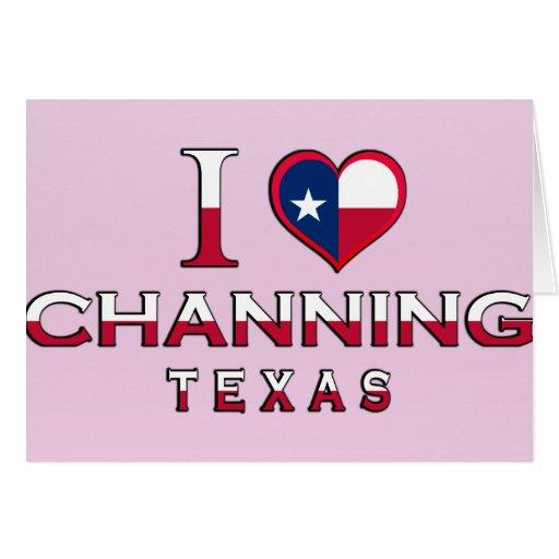 Channing, Tejas Felicitaciones