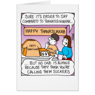Channukah and Thanksgiving – Card