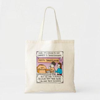Channukah y acción de gracias - bolso bolsa tela barata