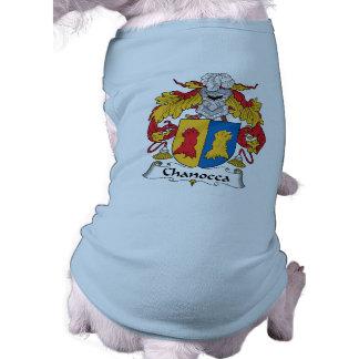 Chanocca Family Crest Dog Tee Shirt