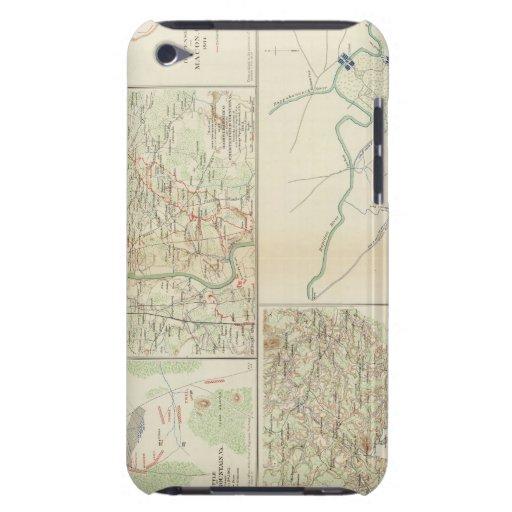Chanorsville Buckingham, condados de Appomox Cubierta Para iPod De Barely There