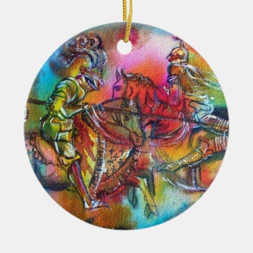 CHANSON DE ROLAND CHRISTMAS TREE ORNAMENTS