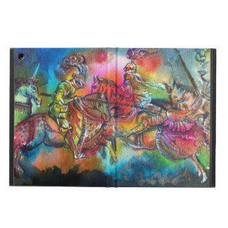 CHANSON DE ROLAND/ COMBAT OF KNIGHTS IN TOURNMENT iPad AIR COVERS