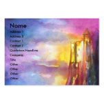 CHANSON DE ROLAND/ COMBAT OF KNIGHTS IN TOURNMENT LARGE BUSINESS CARD