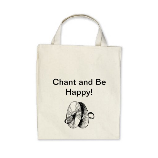 Chant and Be Happy Canvas Bags