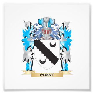 Chant Coat of Arms - Family Crest Photo Print