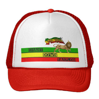 CHANT DOWN BABYLON HAT